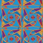 Seamlessbeautiful decorative royal   pattern — Stock Vector