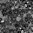 Seamless pattern beautiful decorative lace — Stock Photo #63967329