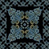 Traditional ornamental seamless background. Paisley design — Stock Photo