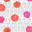 Vector ethnic seamless pattern american traditional ornament — Stock Photo #83753312