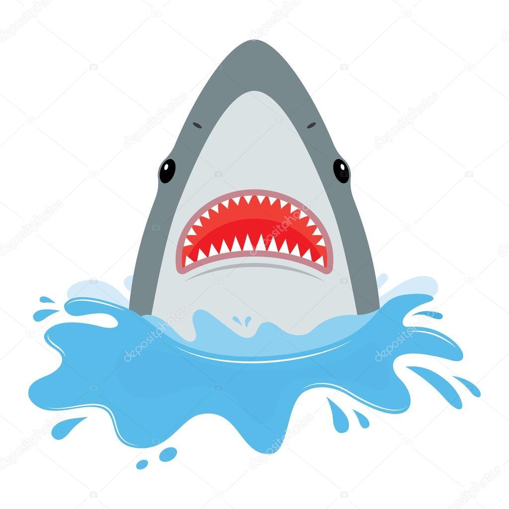 tibur u00f3n con la boca abierta vector de stock  u00a9 makc76 clipart month clipart months of the year free