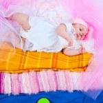 Princess on a pea — Stock Photo #74266437