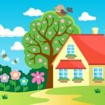 Garden theme image 2 — Stock Vector #52812137