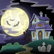 Haunted house theme image 2 — Stock Vector #52812265