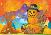 Thanksgiving theme image 5 — Vector de stock