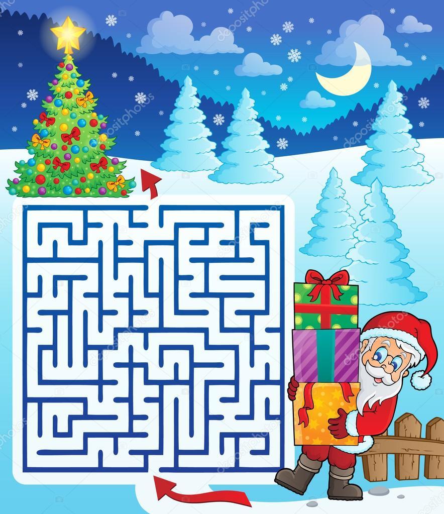 Помоги санте найти подарки