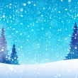 Snow theme background 5 — Stockvector  #56831987