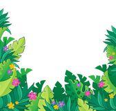 Image with jungle theme 7 — Vector de stock