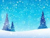 Snow theme background 5 — Stock Vector