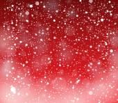 Snow theme background 4 — Stock Vector