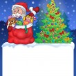 Small frame with Christmas theme 2 — Stock Vector #60327801