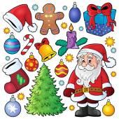 Christmas theme collection 1 — Stock Vector