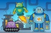 Robot theme image 5 — Stock Vector