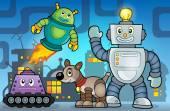 Robot theme image 6 — Stock Vector