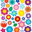 Flower theme collection 4 — Stock Vector #64078257