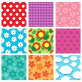 Pattern theme collection 2 — Stock Vector