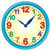 Clock theme image 3 — Stock Vector