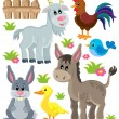 Farm animals set 3 — Stock Vector #72053639
