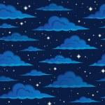 Night sky seamless background 2 — Stock Vector #72054167