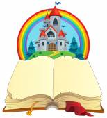 Fairy tale book theme image 2 — Stock Vector