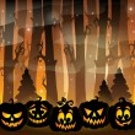 Pumpkin silhouettes theme image 2 — Stock Vector #81563874