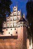 The greatest in Europe Gothic Castle. Malbork in Poland. World Heritage List UNESCO. — Stock Photo