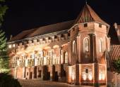The greatest in Europe Gothic Castle. Malbork in Poland. World Heritage List UNESCO. — Stock Photo