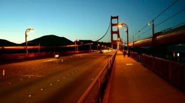 Golden Gate Bridge,  an Francisco, USA. — Stock Video