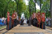 1000th celebration anniversary of the repose of St. Vladimir in Kiev, Ukraine. — Stock Photo