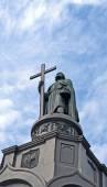Vladimir baptist monument (Vladimir the Great aka Great Prince of Kiev). — Stock Photo