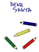 Письмо Санты — Cтоковый вектор