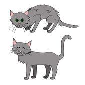 Adopt a cat — Stock Vector