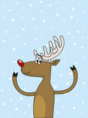 Deer — Stock Vector