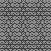 Skull background — Stock Vector