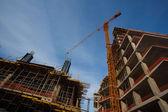 High-rise multi-storey buildings — Stock Photo