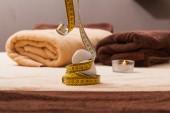 Pietre della stazione termale su un asciugamano — Foto Stock