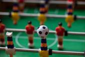 Игрушка футболистов — Стоковое фото
