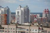 Roofs of apartment buildings — Stockfoto