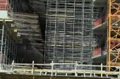 стройплощадка здания — Стоковое фото