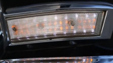 Volga car light — Stock Video