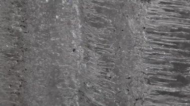 Rough metal texture — Stock Video