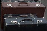 老式复古手提箱 — 图库照片