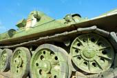 Old Russian Tank — Stock Photo