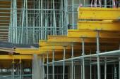 Building construction formwork — Stock Photo