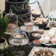 Sweets on wedding table — Stock Photo #69385009