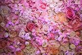 Wedding flowers background — Stock Photo