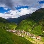 Old mountain village — Stock Photo #66342347