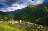 Old mountain village Adishi — Stock Photo