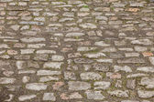 Old european bricks — Stock Photo