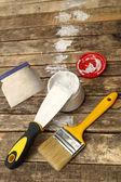 Putty knife — Stock Photo